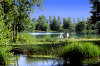 The Bièvre Liers lake district (2 to 10km)