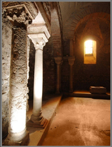Archeological Crypt in Grenoble (65km)